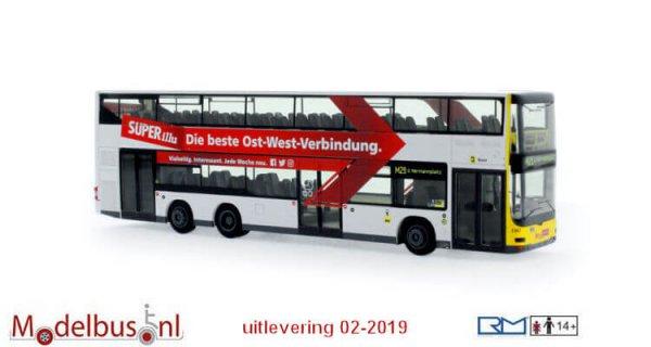 Rietze 67784 MAN Lion´s City DL07 BVG Superillu