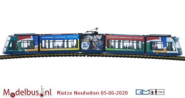 Rietze STRA01068 Siemens Combino 5-delig Stadtwerke Potsdam