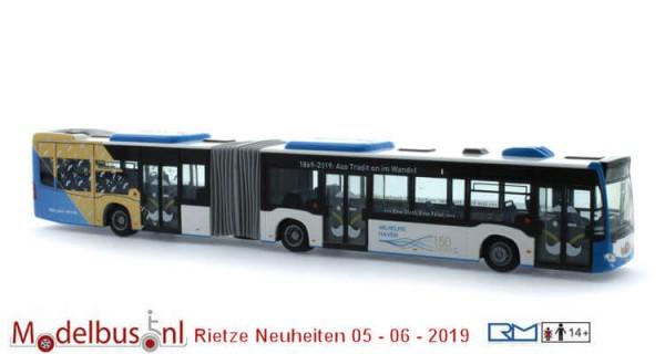 Rietze 73651 Mercedes-Benz Citaro G´15 150 Jahre Stadtwerke Wilhelmshaven