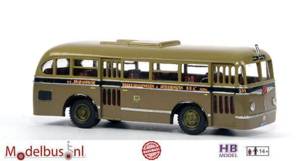 HB Model BBA 335 Ford B 59 Transit Verheul NS 2600