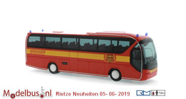 Rietze 63916 Neoplan Tourliner Feuerwehr Paderborn