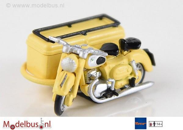Roco 671610 Puch 250 SG mit Paketbeiwagen