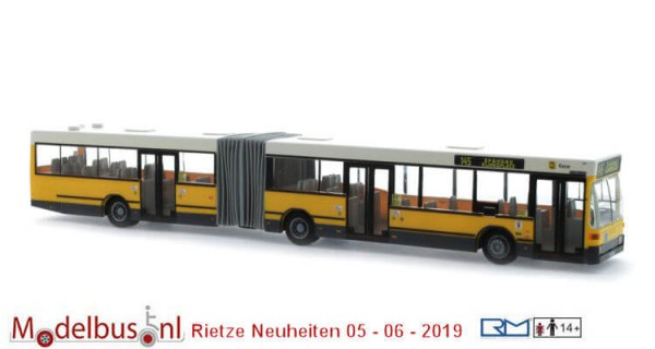 Rietze 76400 Mercedes-Benz O 405 GN2 BVG