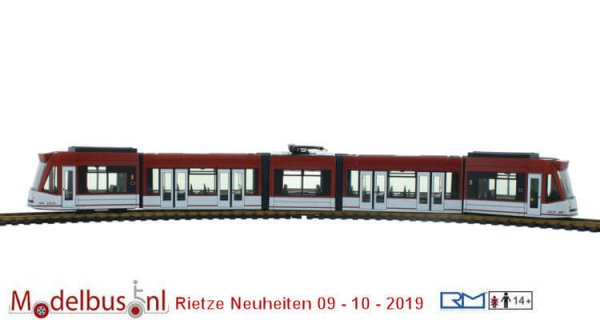 Rietze STRA01057 Siemens Combino EVAG, Erfurt