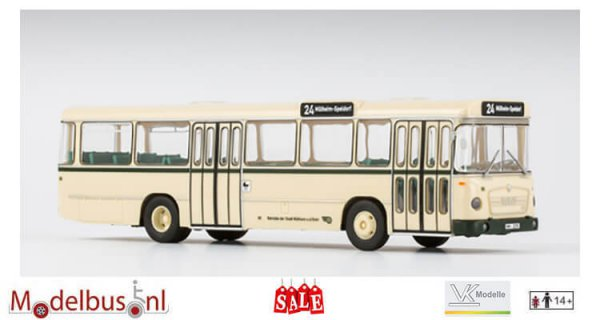 VK-Modelle 14142 MAN 750 HO-M11 A Metrobus Betriebe der Stadt Mülheim an der Ruhr