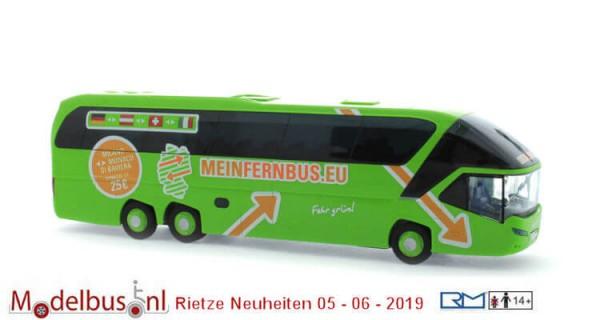 Rietze 66770 Neoplan Starliner 2 Meinfernbus.eu