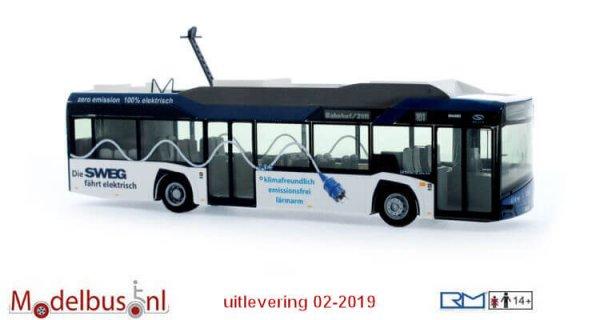 Rietze 73030 Solaris Urbino 12´14 electric SWEG