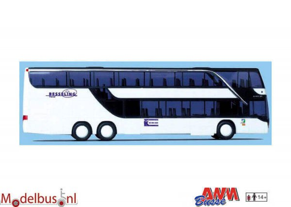 AWM Automodelle 71742 Setra 431 DT Besseling Amersfoort