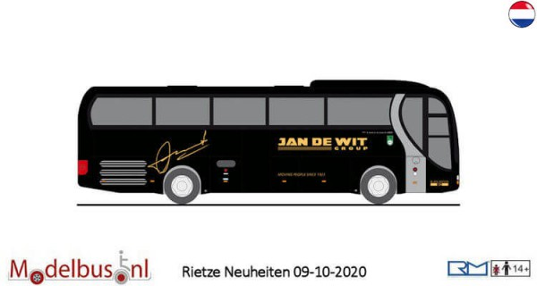 Rietze 65558 MAN Lion's Coach Supreme Jan de Wit