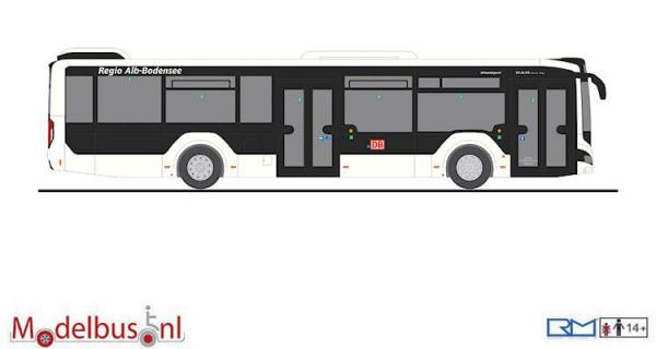 Rietze 75322 MAN Lion's City 12 '18 Hybrid DB-Regio-Alb-Bodensee