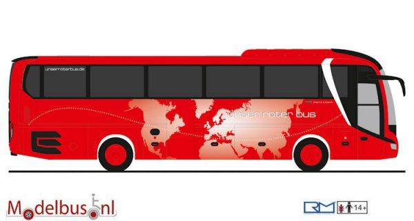 Rietze Automodelle 74821 MAN Lion´s Coach ´17 Unser Roter Bus Uckermünde