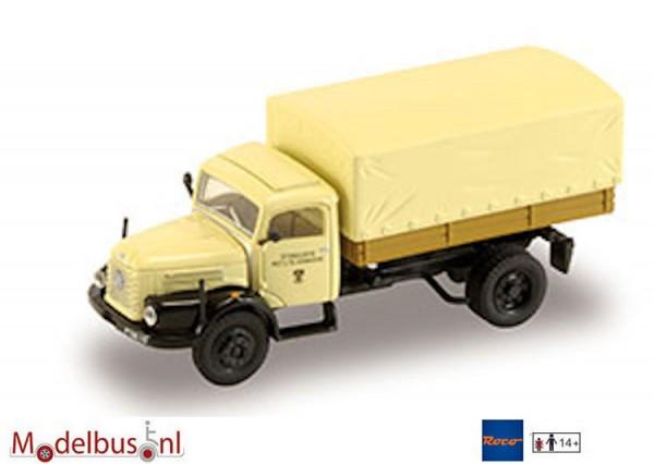 Roco Starline P0216 Steyr 480 LKW beige dekzeil