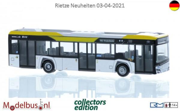 Rietze 77203 Solaris Urbino 12´19 Leipziger Verkehrsbetriebe