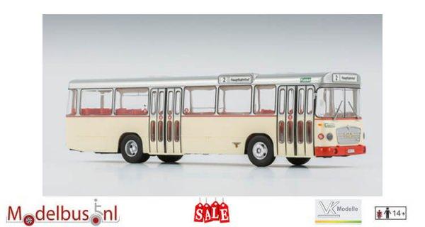 VK-Modelle 14062 MAN 750 HO-M11 A Metrobus Stadtwerke Wilhelmshaven