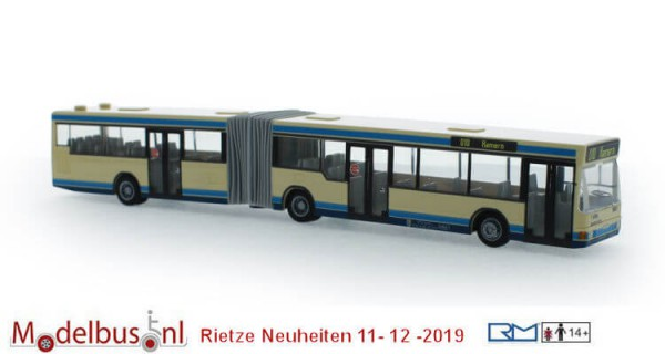 "Rietze 76604 MAN NG 262 ""NEW - Möbus Mönchengladbach"