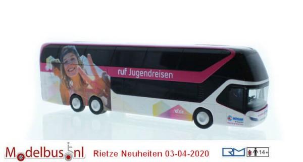 Rietze 69046 Neoplan Skyliner ´11 ruf Jugendreisen - Briskamp Harsewinkel