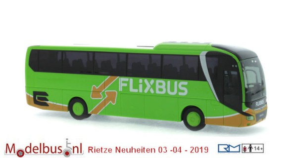 Rietze 74820 MAN Lion´s Coach ´17 Flixbus