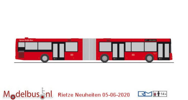 Rietze 65289 MAN NG DB Regio Spree - Neisse - Bus