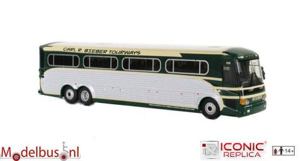 Iconic Replicas 087-0096 MCI D4505 Bieber Tourways
