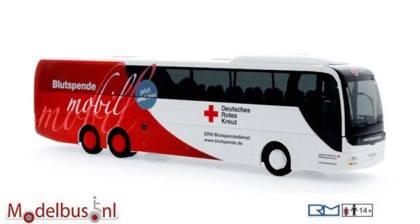 Rietze 64289 MAN Lion's Coach L DRK Blutspendedienst