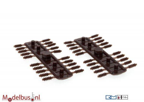 Rietze 70801 Isolator bruin 1,9x6,0mm (40 st.)