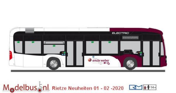 Rietze 75511 Mercedes-Benz eCitaro Emile Weber
