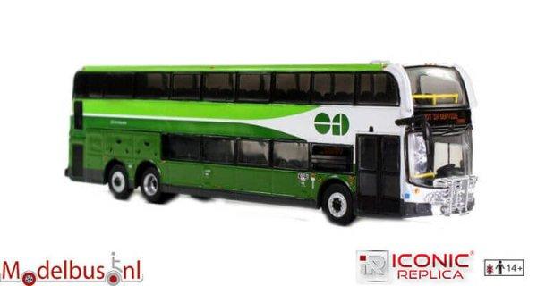 Iconic Replicas 87-0057 Alexander Dennis Enviro 500 Double Decker: Go Transit
