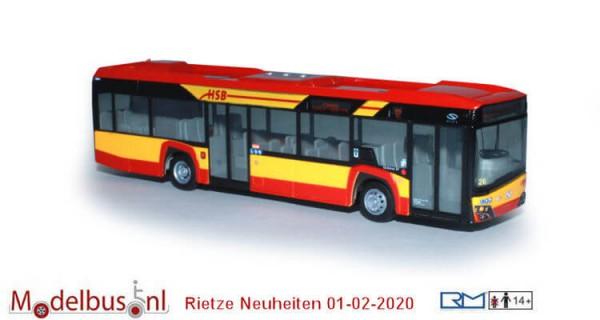 Rietze 77200 Solaris Urbino 12 '19 Hanauer Straßenbahn
