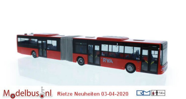 "Rietze 72781 MAN Lion´s City G´15 ""DB - RVA"""