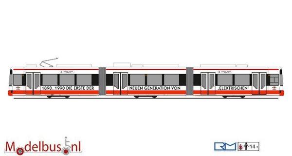 Rietze STRA01044 Adtranz GT6 BSAG Bremen