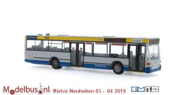 Rietze 75208 Mercedes-Benz O 405 N2 Stadtwerke Solingen