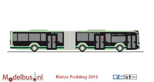 Rietze 75803 MAN Lion's City 18´18 G OVPS Pirna