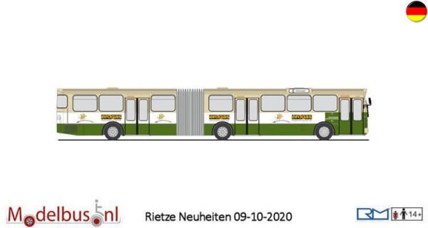 "Rietze 74530 Mercedes-Benz O 305 G ""Stadtwerke Aschaffenburg"""