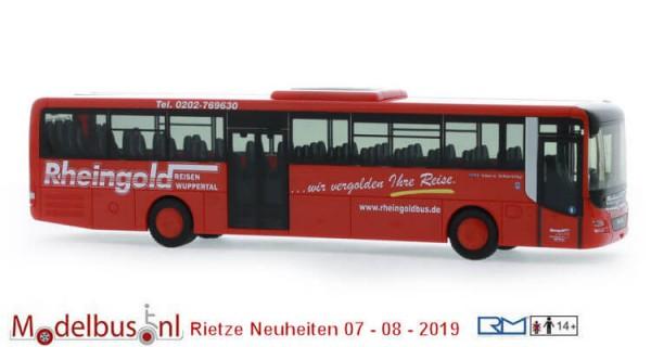 Rietze 74711 MAN Lion's Intercity '17 Rheingold Reisen Wuppertal