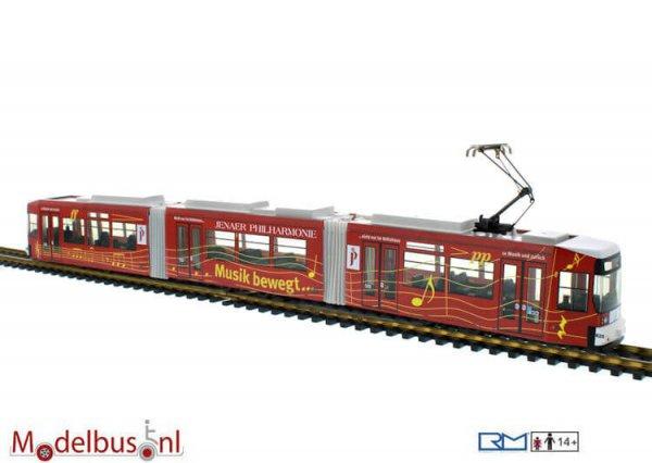 Rietze STRA01017 Adtranz GT6 Jenaer Nahverkehr- Philharmonie 520
