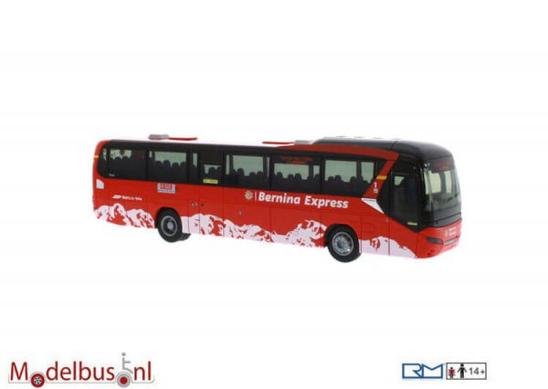Rietze 69619 Neoplan Jetliner Postauto Schweiz -Bernina Express- (CH)