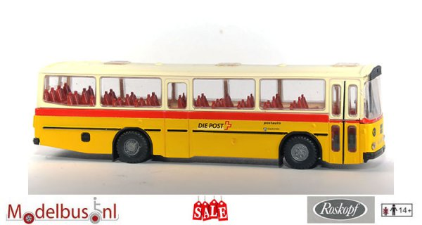 Roskopf 8020-005 Saurer RH 525/23 Postauto Romanisch