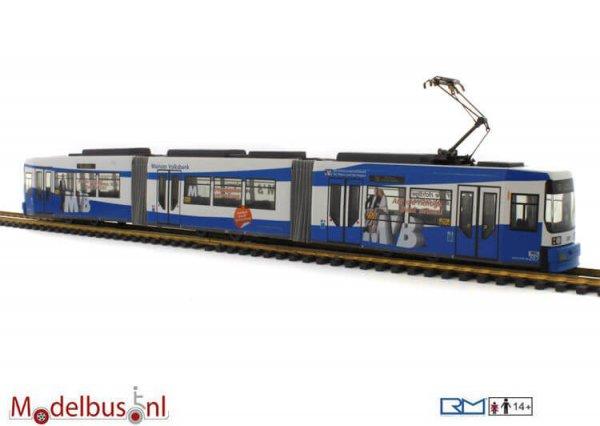 Rietze STRA01008 Adtranz GT6M-ZR MVG-Mainzer Volksbank Wagennr. 207