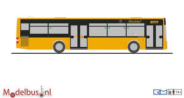 """Rietze 72742 MAN Lion's City """"Dresdner Verkehrsbetriebe"""""""