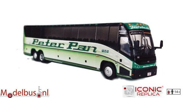 Iconic Replicas 087-0123 MCI J4500 Peter Pan