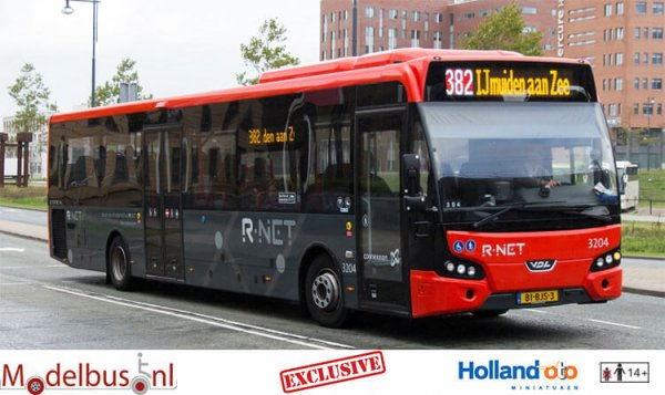 HollandOto R-Net 3204 Connexxion VDL LLE Citea