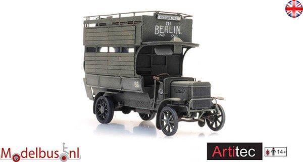 Artitec 6870414 Ford TT B-Type Omnibus WW1