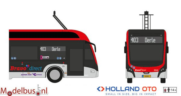 HollandOto 8-1299 Bravo Direct VDL Citea SLFA