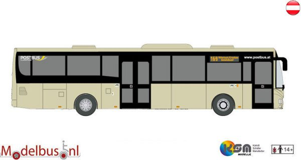KSM-Modelle 110187 Irisbus Crossway LE Postbus Oostenrijk