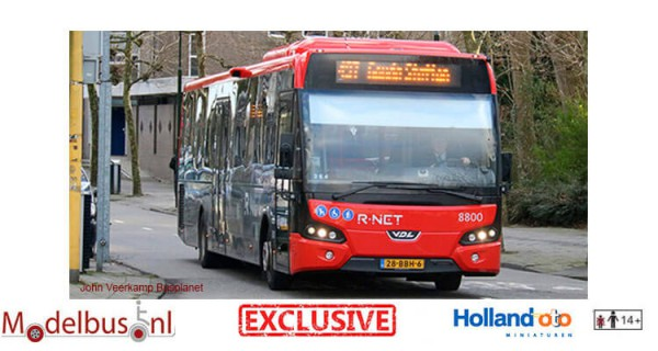 HollandOto R-Net 8800 Arriva VDL LLE Citea