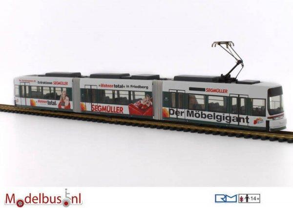 Rietze STRA01014 Adtranz GT6M - AVG Augsburg - Segmüller 603