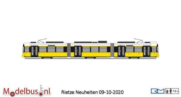 """Rietze STRA01069 Adtranz GT6 """"BVG"""" wagennummer 2230"""