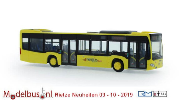 "Rietze 69491 Mercedes-Benz Citaro '12 ""Regiobus"""