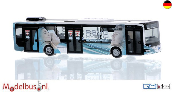 Rietze 75312 MAN Lion's City 12'18 Hybrid RSVG, Troisdorf