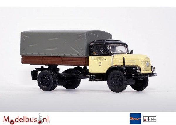 Roco Starline P0215 Steyr 480 LKW Grijs dekzeil